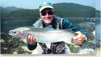 Steelhead, Trout, Salmon Fishing - Campbell River, Vancouver island, BC, Canada
